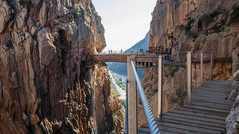 España Directo - Caminito del Rey y su pasado como el sendero más peligroso del mundo