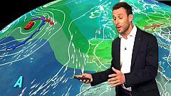 Lluvias en Cataluña y Baleares y ambiente soleado en la mitad sur de la península