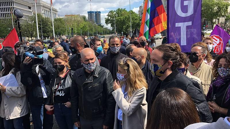 """Yolanda Díaz llama a celebrar un Primero de Mayo """"de esperanza y proyectos compartidos"""""""