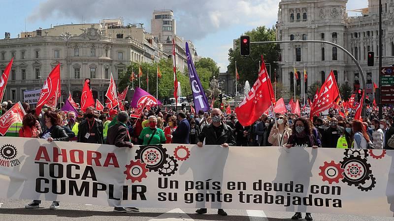 Los sindicatos piden la derogación de la reforma laboral en el Primero de Mayo