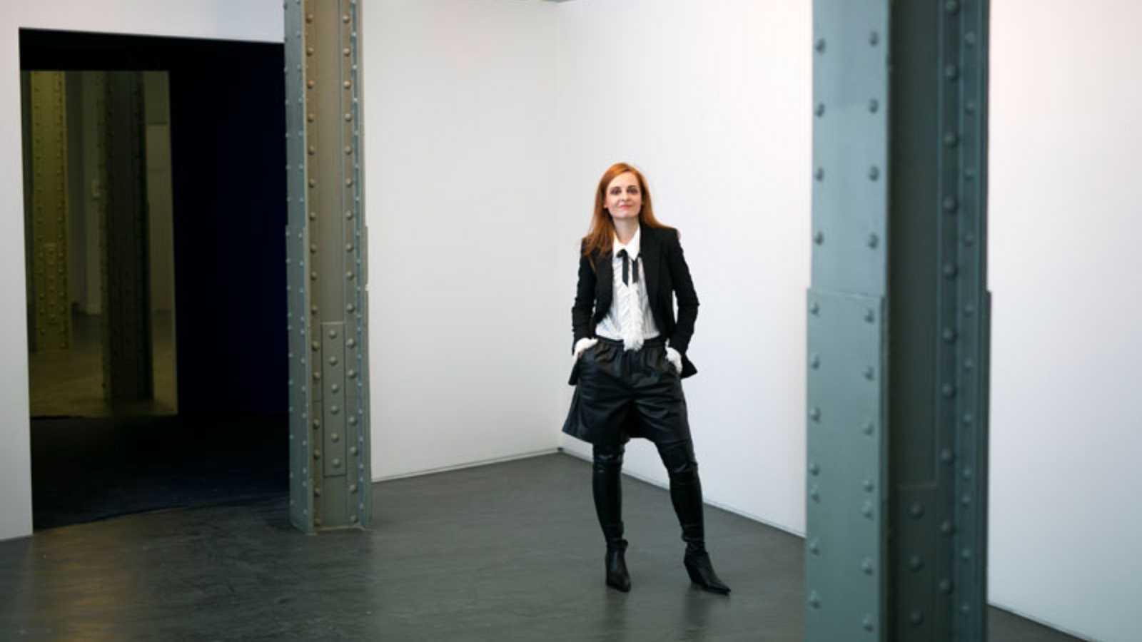Ana Locking, comisaria de una exposición