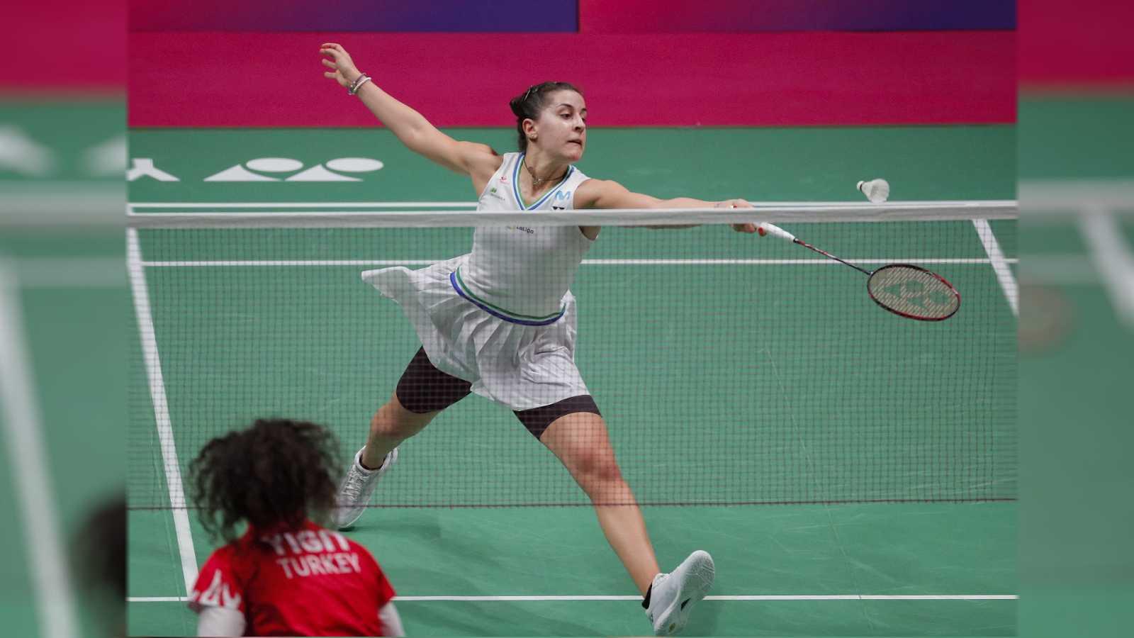 Bádminton - Campeonato de Europa. Semifinales: C. Marín - N. Yigit - ver ahora