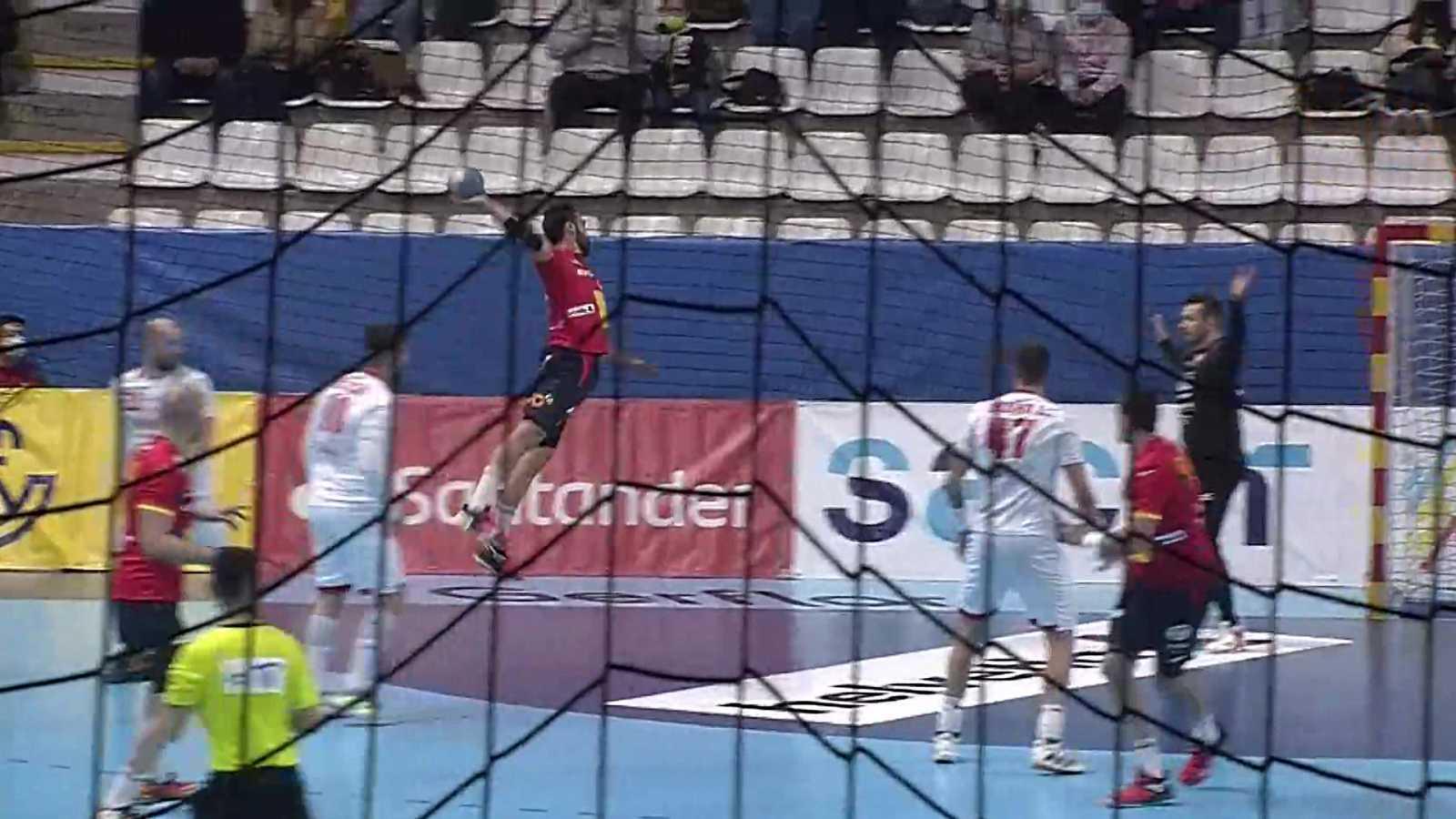Balonmano - EHF Cup Selecciones masculinas: España - Eslovaquia - ver ahora
