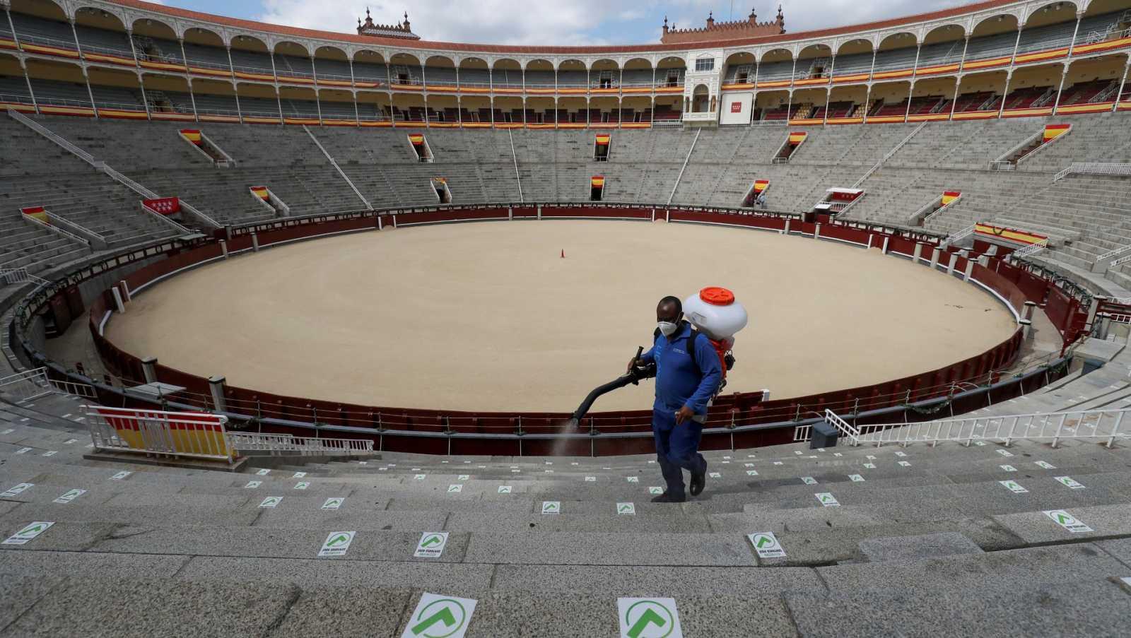 La plaza de toros de Las Ventas reabre sus puertas