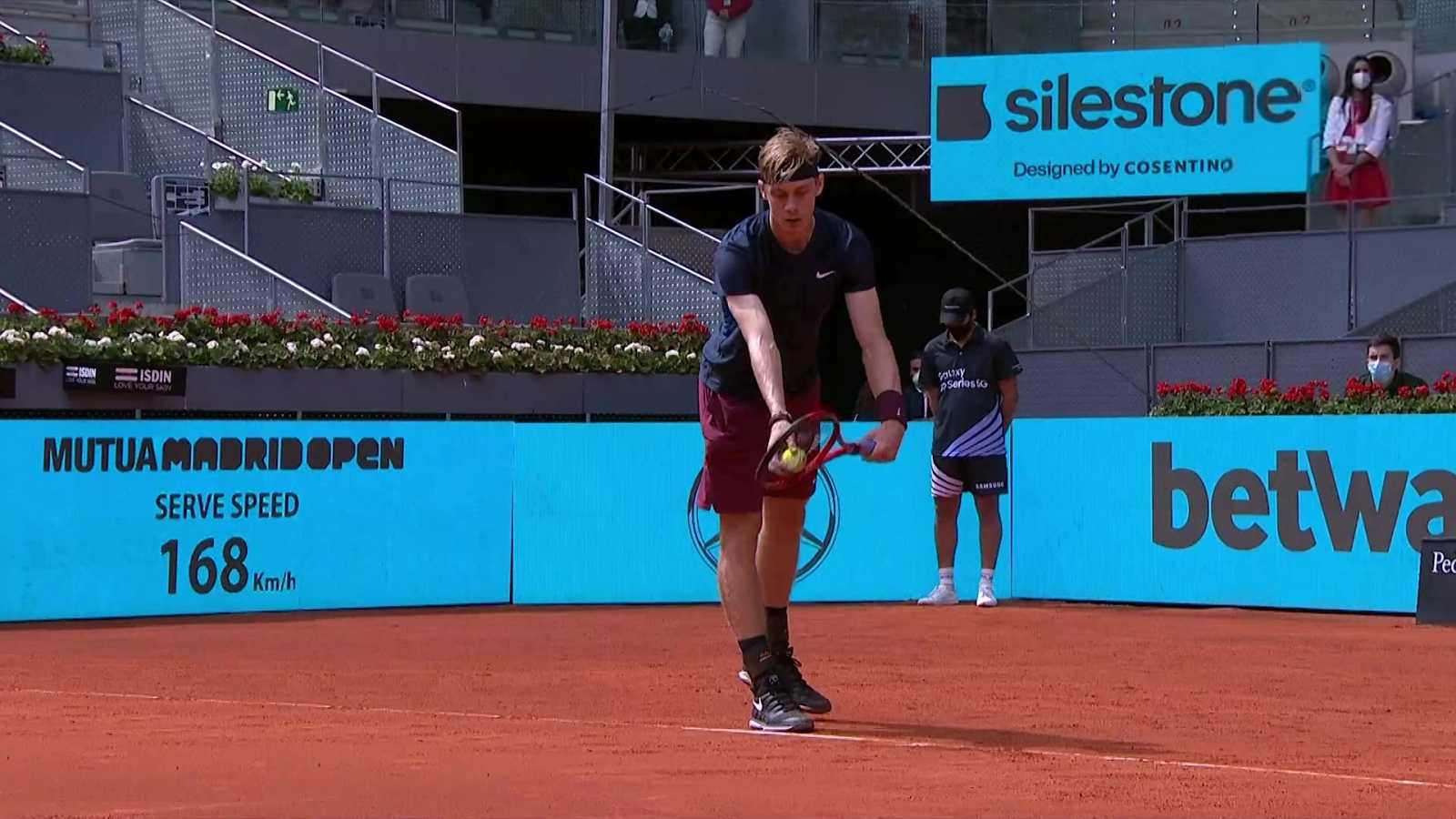 Tenis - ATP/WTA Mutua Madrid Open: Dusan Lajovic - Denis Shapovalov - ver ahora