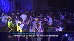 """L'assaig clínic Obrir Girona permet """"sortir de festa"""" 250 persones a la Mercè Electrònica"""