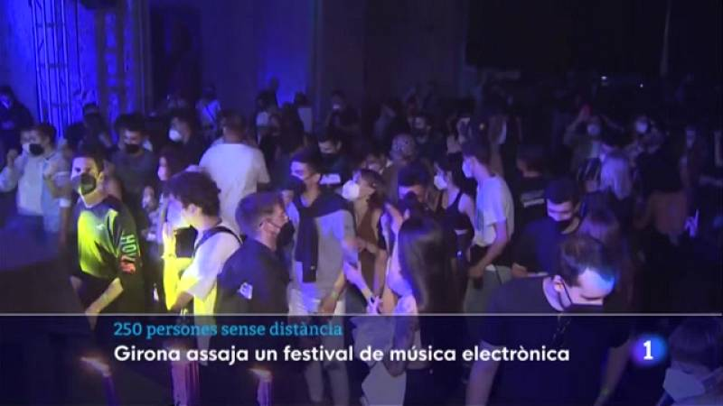 """L'assaig clínic Obrir Girona permet """"sortir de festa"""" 250 persones"""