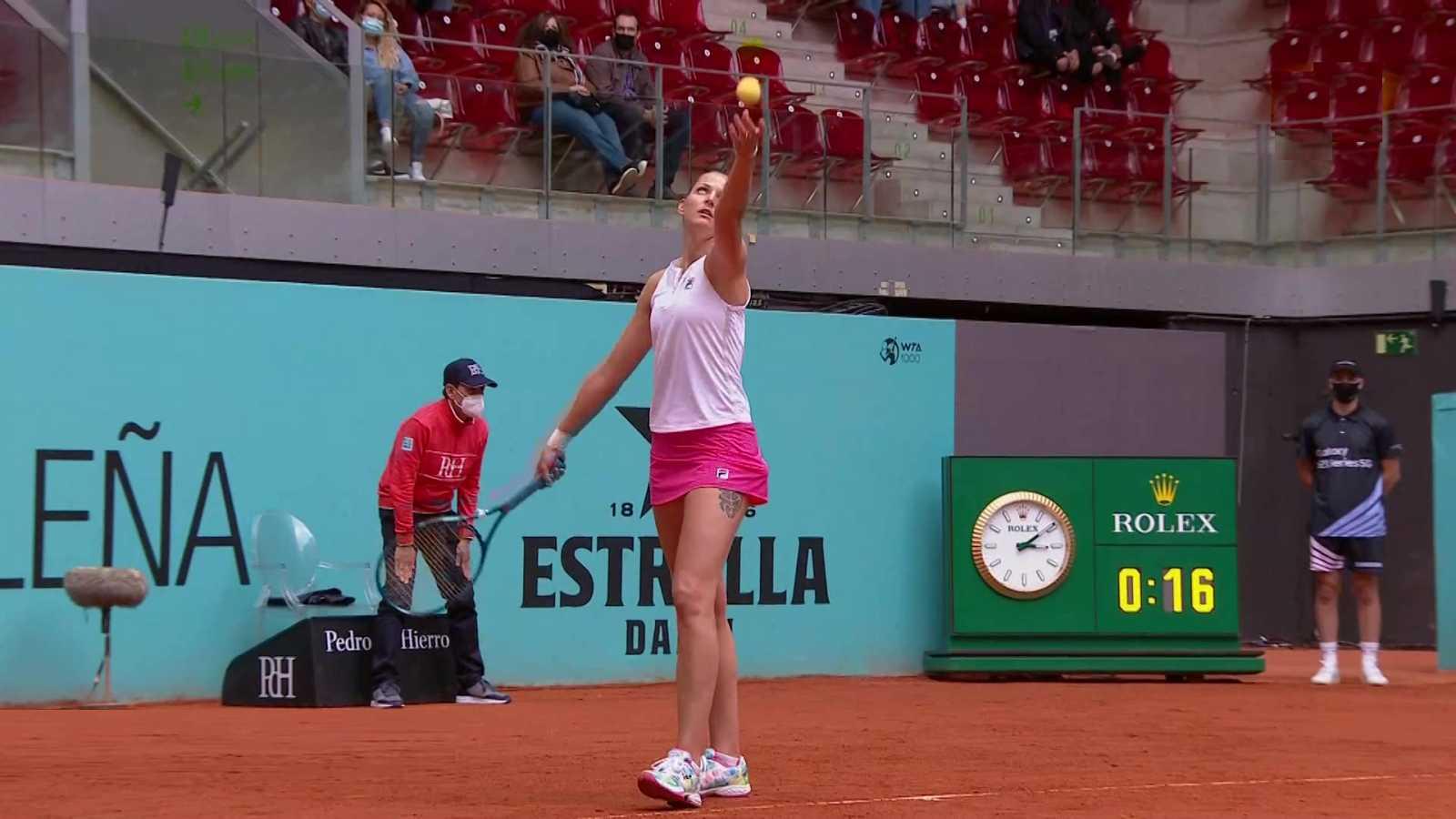 Tenis - ATP/WTA Mutua Madrid Open.: K. Pliskova - A. Pavlyuchenkova - Ver ahora