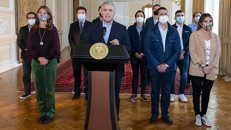 Iván Duque retira la reforma fiscal ante las protestas