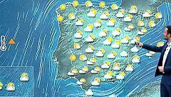 Lluvias en el centro, el norte peninsular y en el Mediterráneo con temperaturas más suaves