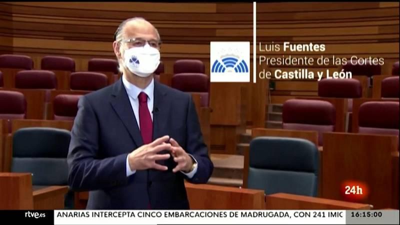 Parlamento - La entrevista - Luis Fuentes, presidente de las Cortes de Castilla y León - 01/05/2021