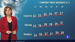El tiempo en Extremadura - 03/05/2021
