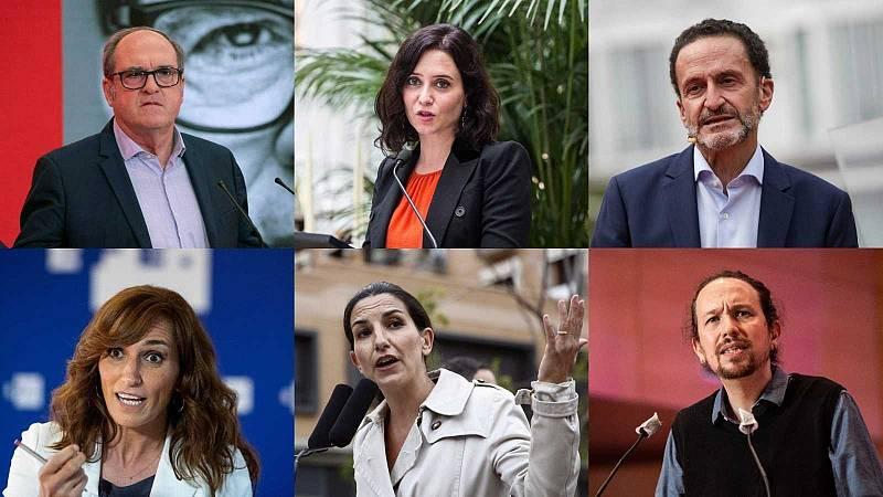 Así pasan la jornada de reflexión los candidatos de las elecciones de Madrid