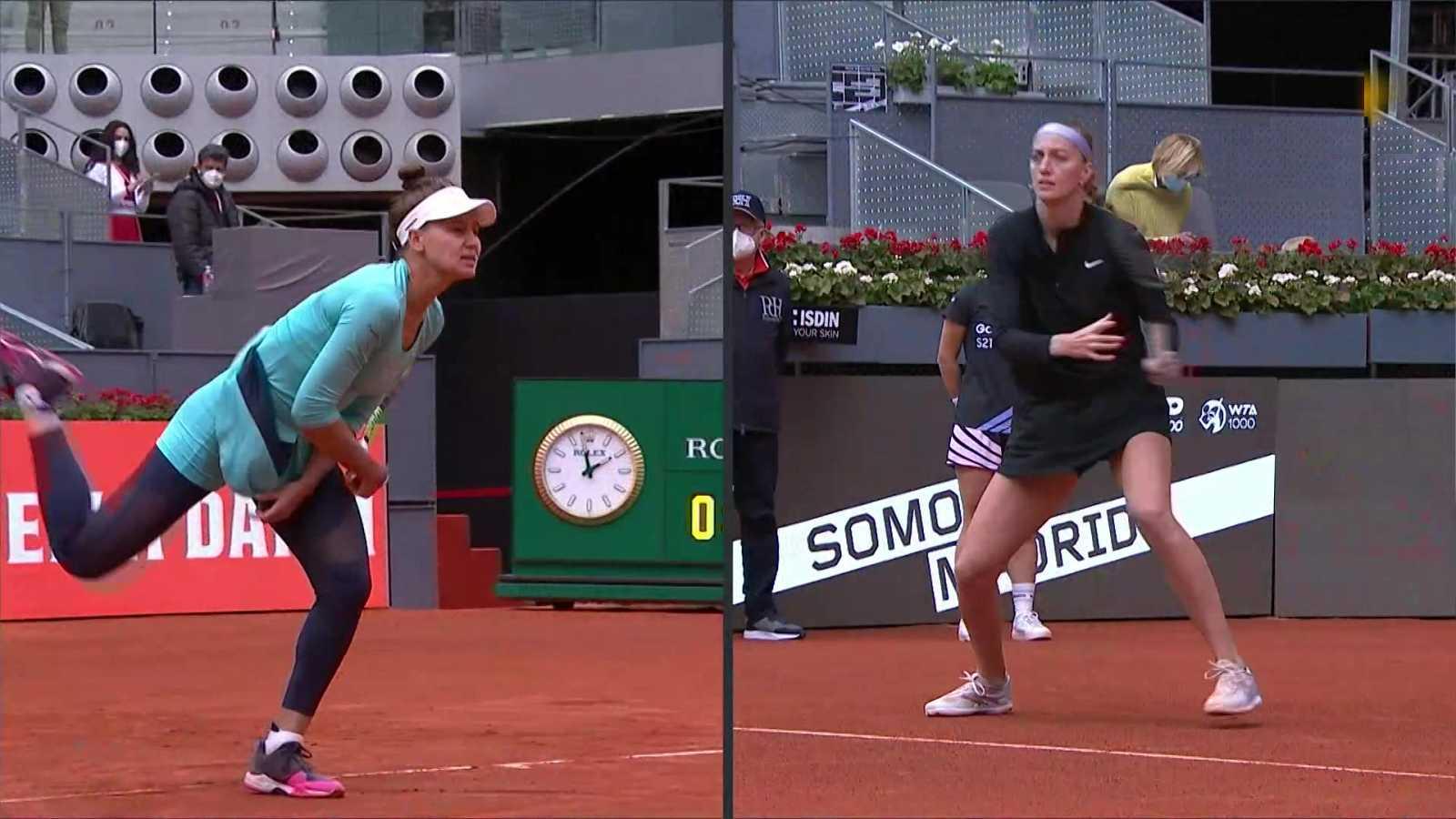 Tenis - WTA Mutua Madrid Open: Petra Kvitova - Veronika Kudermetova - ver ahora