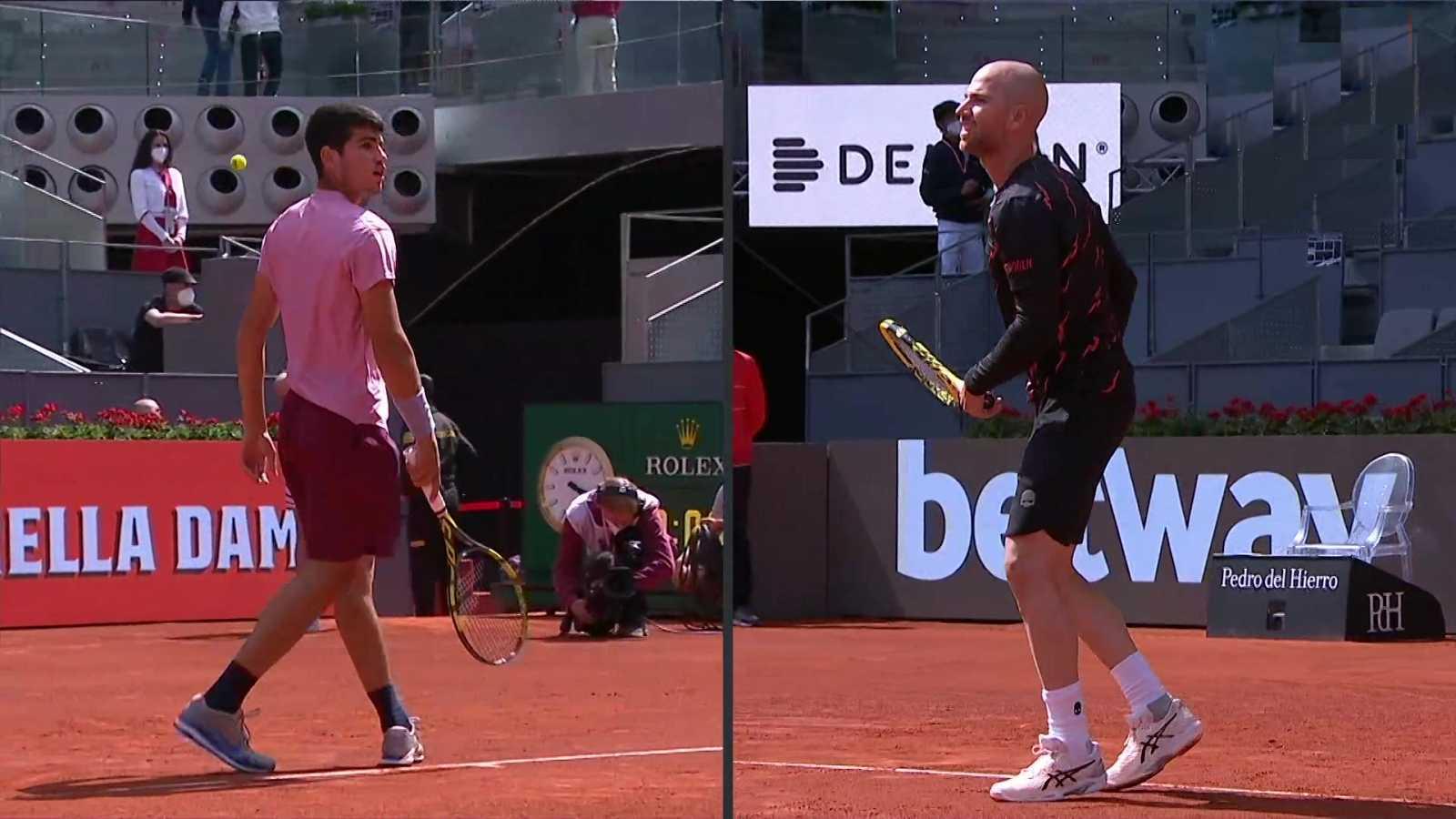 Tenis - ATP Mutua Madrid Open: Adrian Mannarino - Carlos Alcaraz  - ver ahora