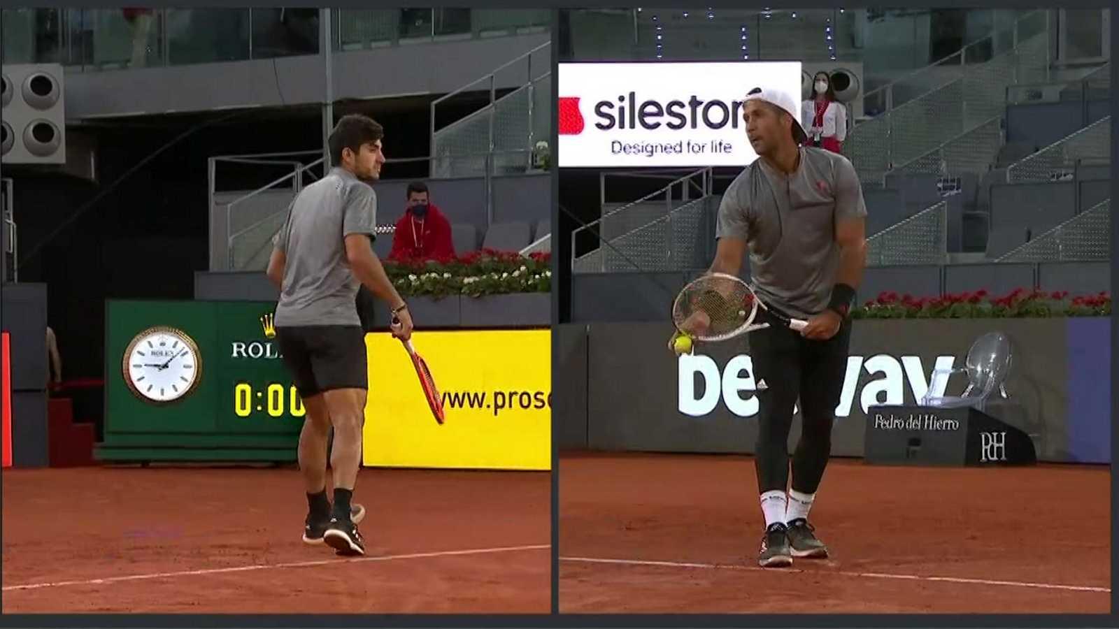 Tenis - ATP Mutua Madrid Open: C. Garín - F. Verdasco - ver ahora