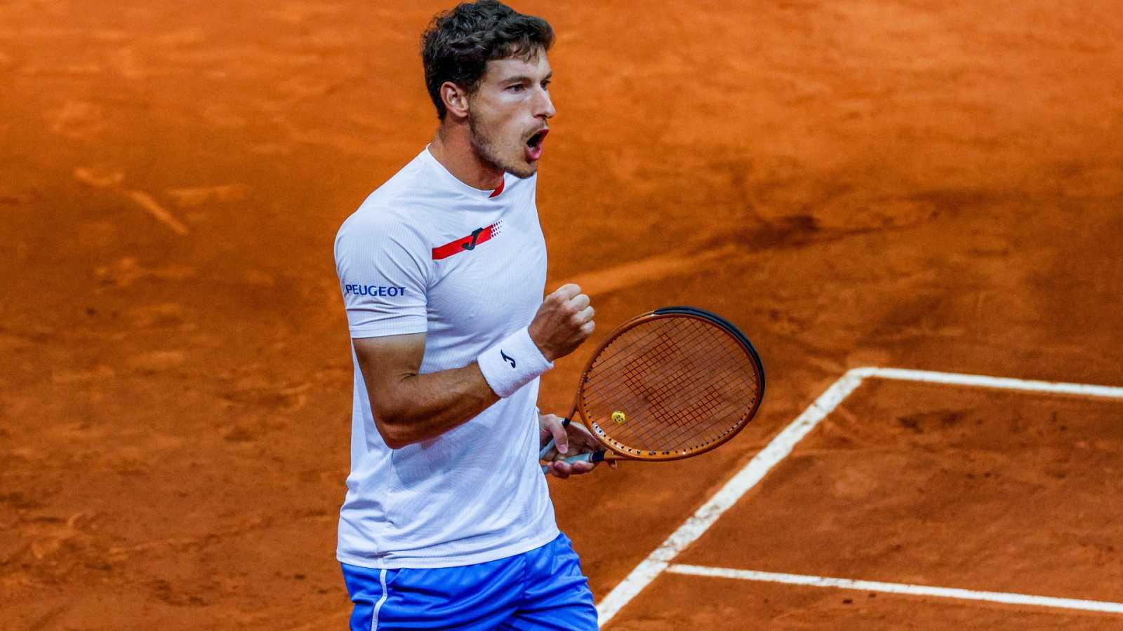 Tenis - ATP Mutua Madrid Open: F. Delbonis - P. Carreño Busta - ver ahora