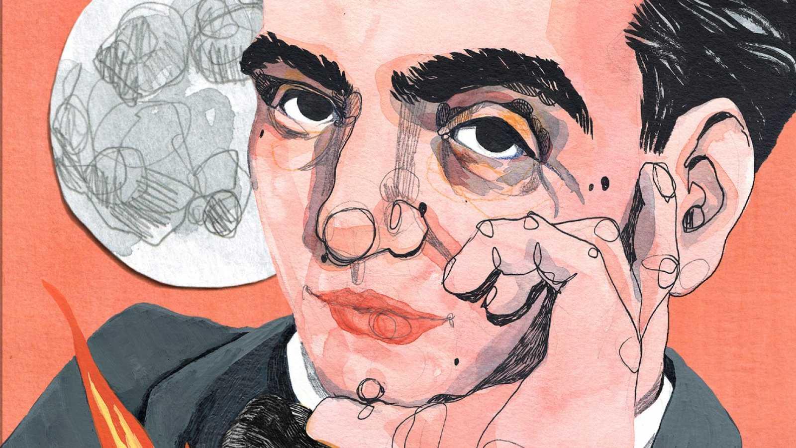 Ilu Ros ilustra una sorprendente biografía de Federico García Lorca