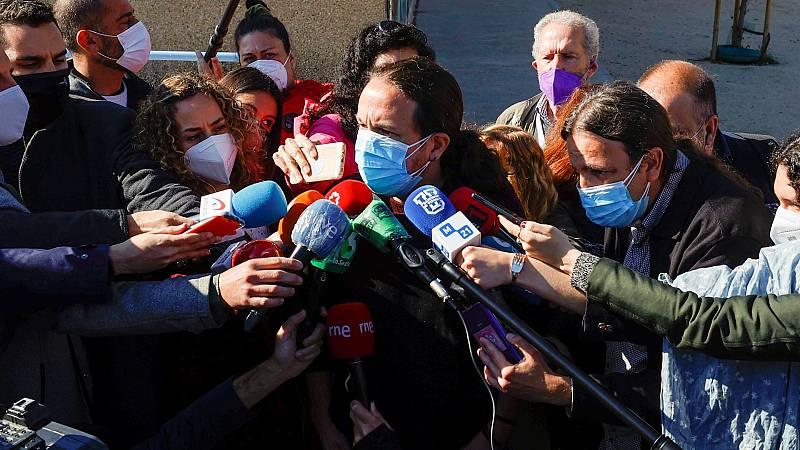 """Iglesias confía en que Madrid votará para """"parar los pies a la ultraderecha"""""""