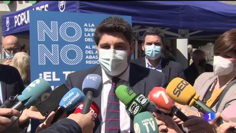 El presidente de la Región anuncia su intención de no relajar las medidas frente al Coronavirus cuando decaiga el Estado de Alarma