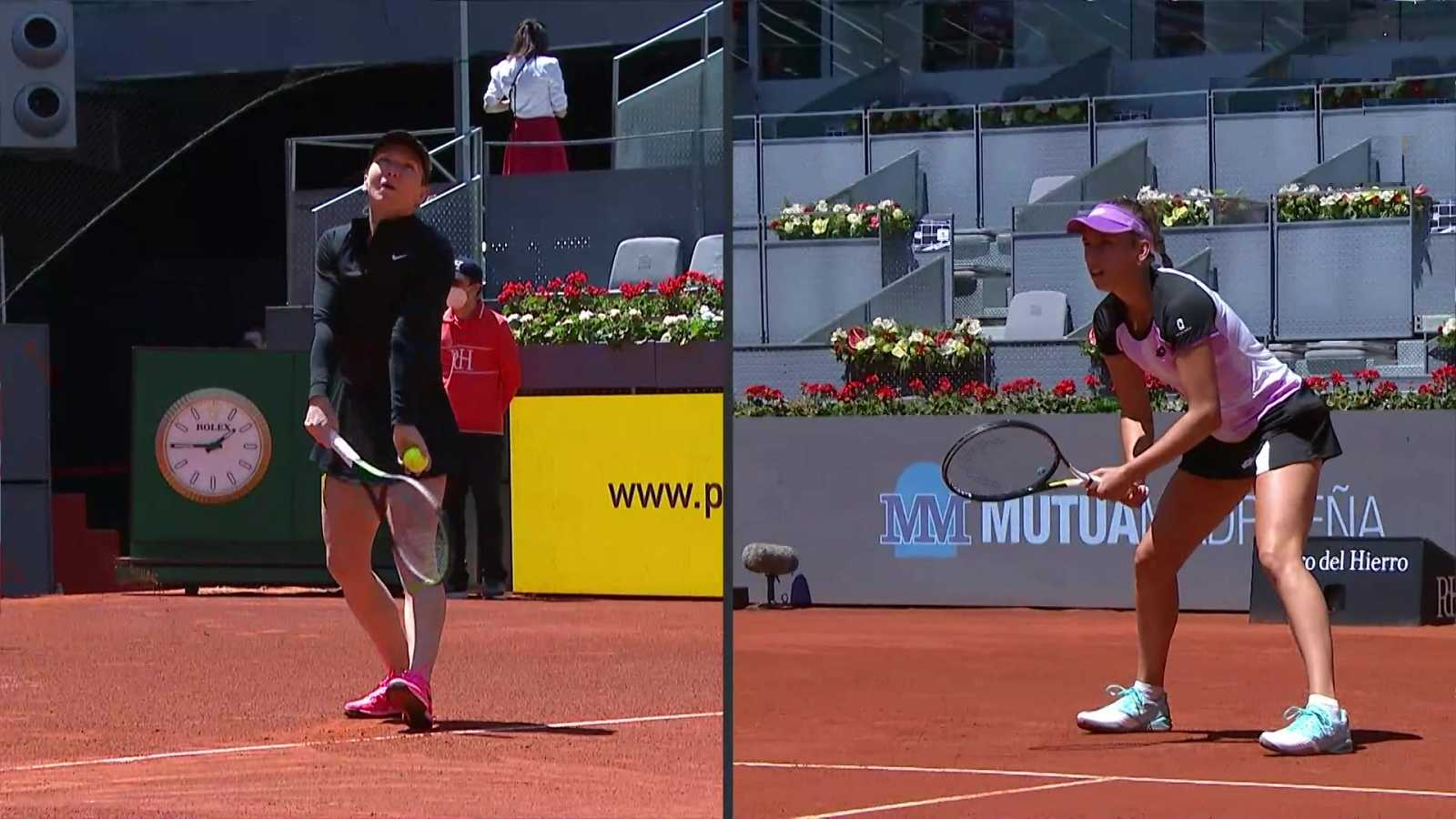 Tenis - WTA Mutua Madrid Open: Elise Mertens - Simona Halep - ver ahora