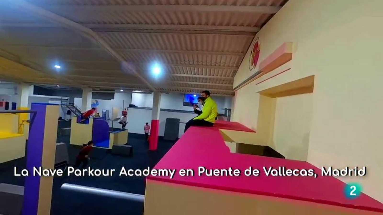 La aventura del saber Escuela de Parkour La Nave Vallecas deporte entrenamiento arte #AventuraSaberDeporte
