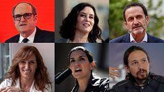 El fotomatón: ¿Qué motes tienen los candidatos al 4M y con quién se irían de cañas?