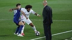 """Zidane, en la previa del Chelsea-Real Madrid: """"Hemos llegado aquí únicamente por nuestro trabajo"""""""