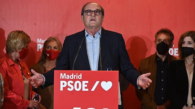 """Gabilondo, tras el batacazo electoral del PSOE: """"Los resultados no son buenos, no lo he logrado y lo lamento"""""""