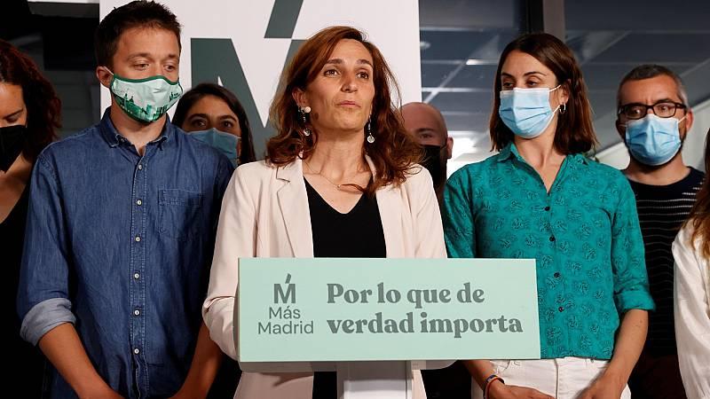 """Mónica García asume ser """"la alternativa en Madrid"""" y promete trabajar desde """"ya"""" para ganar las elecciones de 2023"""