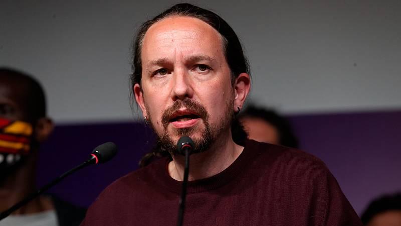 """Pablo Iglesias abandona la política y todos sus cargos: """"No seré un tapón para la renovación de mi partido"""""""
