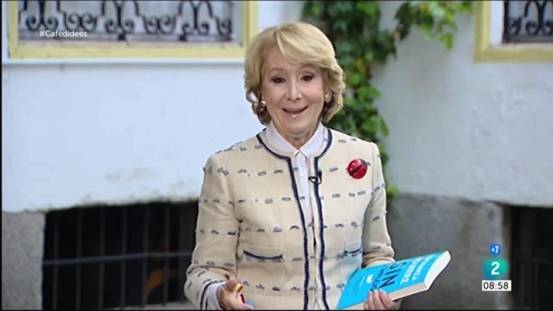 """Cafè d'idees - Esperanza Aguirre: """"Cal fer la batalla ideològica com ha fet Ayuso"""""""