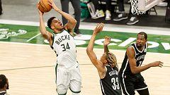 Los Bucks de Antetokounmpo vuelven a ganar a los Nets