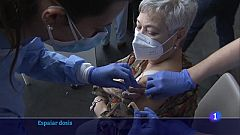 La vacunació de la franja de 40 a 49 anys a Catalunya començarà al juny