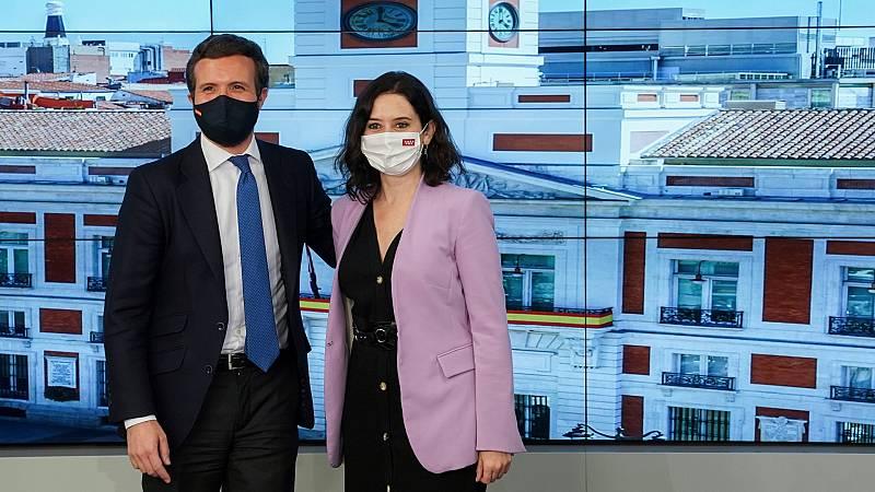 """Ayuso cree que su victoria en Madrid ha cambiado el """"tablero"""" político"""