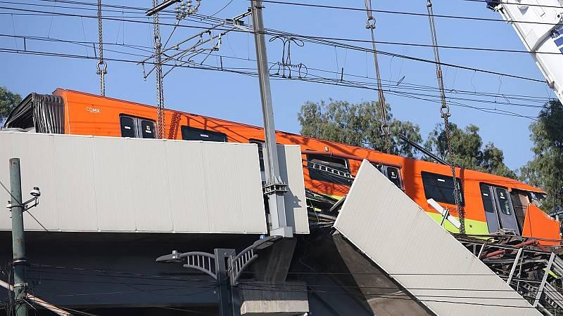 La investigación del accidente del metro de México continúa mientras se identifican las víctimas mortales