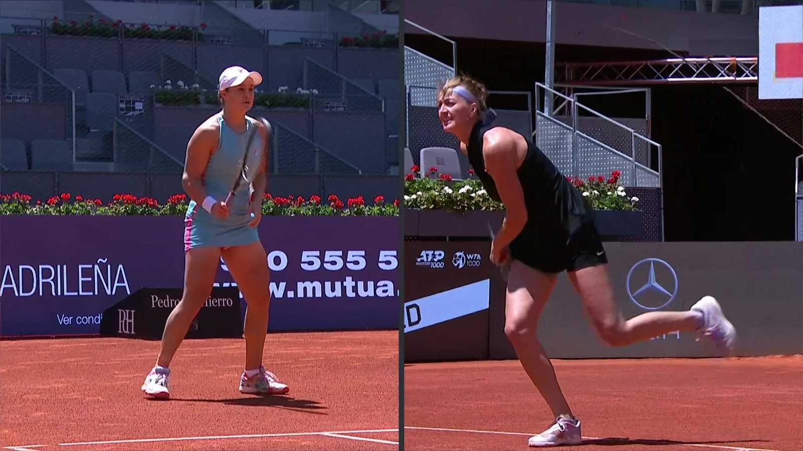 Tenis - WTA Mutua Madrid Open: Ashleigh Barty - Petra Kvitova - ver ahora
