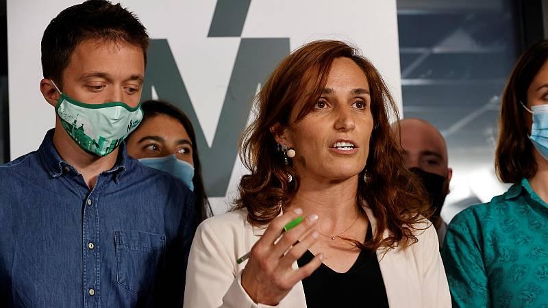 """Sensación """"agridulce"""" en Más Madrid tras el 4M: """"La señora Ayuso va a mantenerse en el Gobierno y es una mala noticia"""""""