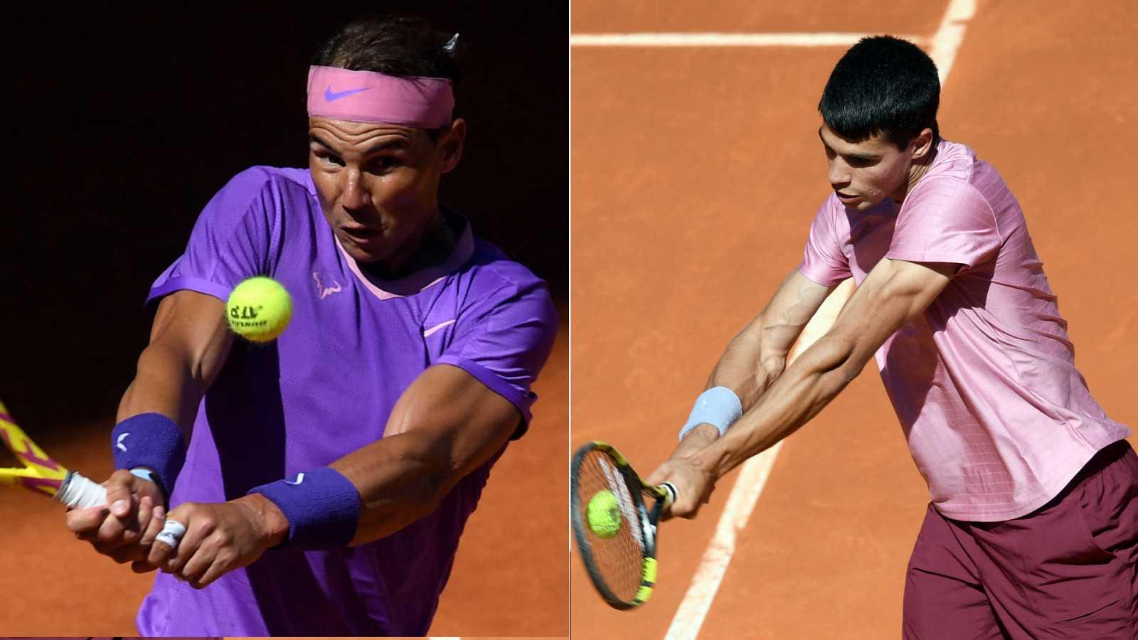 Tenis - ATP Mutua Madrid Open: Rafa Nadal - Carlos Alcaraz - ver ahora