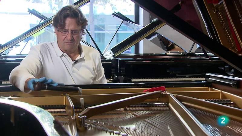 La aventura del saber afinador de pianos musica #AventuraSaberMúsica