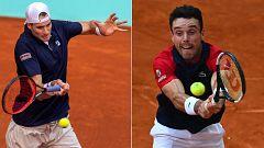 Tenis - ATP Mutua Madrid Open: Roberto Bautista Agut - John Isner