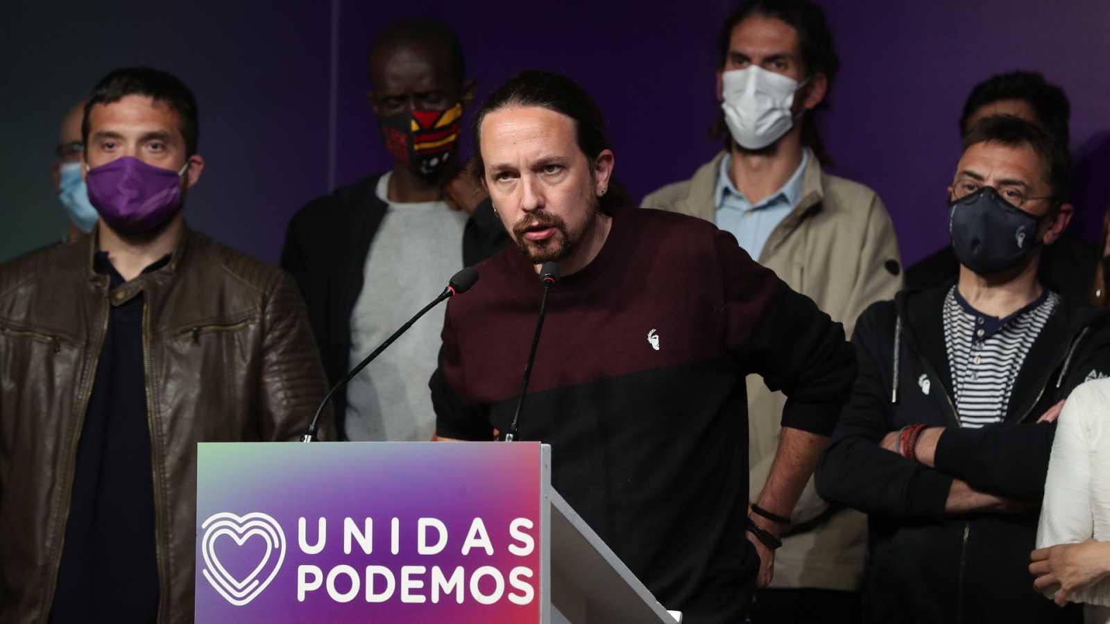 La marcha de Iglesias abre una nueva etapa en Unidas Podemos
