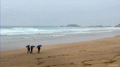 Intervalos de viento fuerte de componente oeste en Galicia y de componente norte en Canarias. Notable aumento de las temperaturas mínimas en Galicia y Asturias