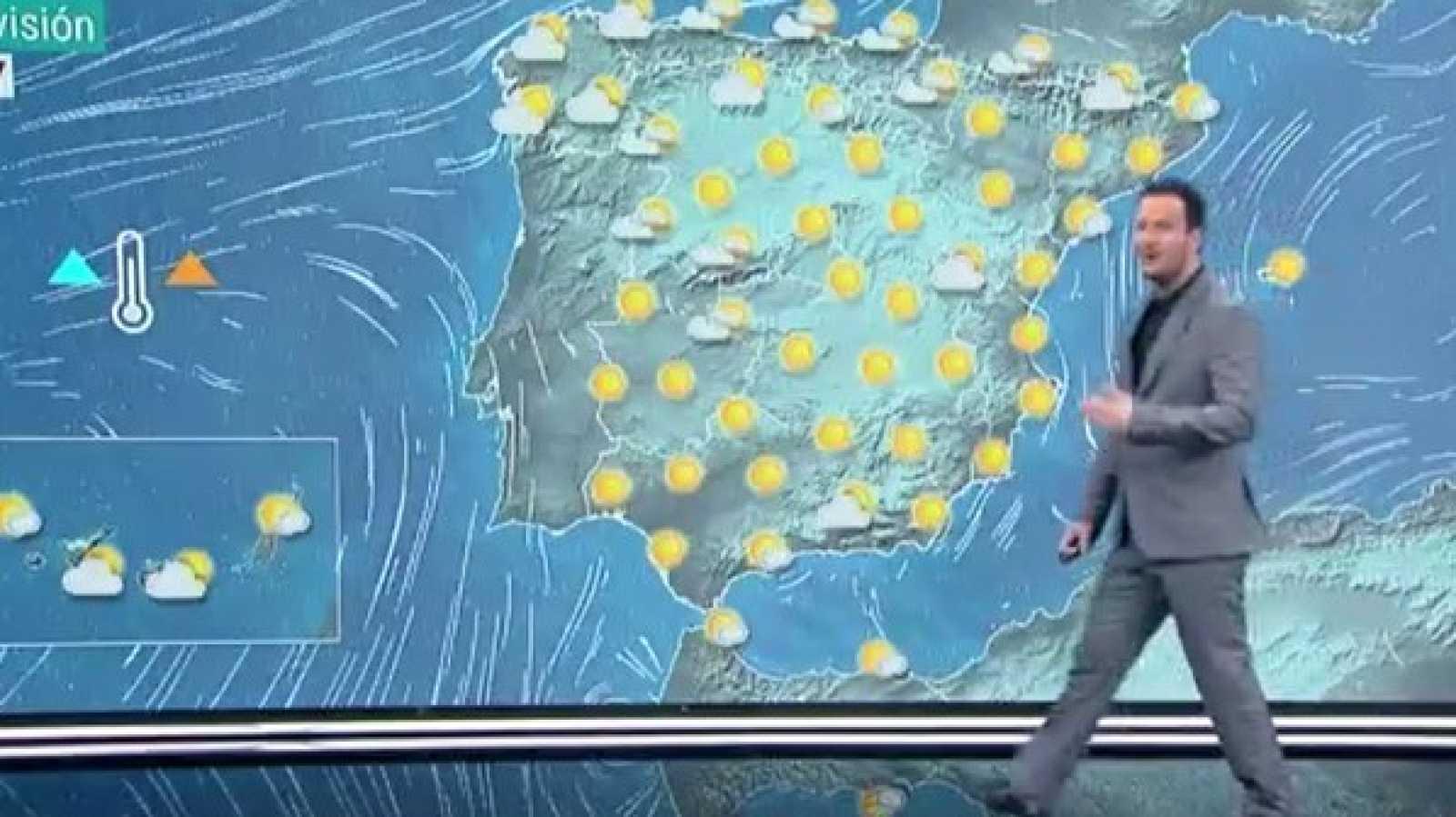 La Aemet prevé un ascenso de temperaturas diurnas en el interior de la mitad oriental