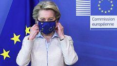"""Von der Leyen: """"La UE está dispuesta  a discutir la suspensión de patentes de vacunas"""""""