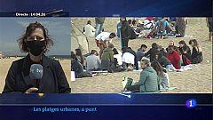 L'Ajuntament de Barcelona activa el control d'aforament de les platges