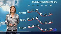 El tiempo en Extremadura - 06/05/2021