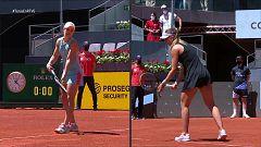 Tenis - WTA Mutua Madrid Open. 1ª Semifinal: Ashleigh Barty - Paula Badosa