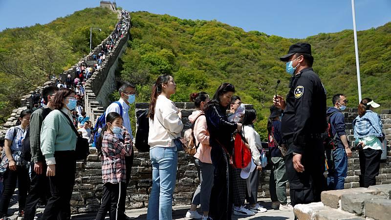 China siguen sin abrir fronteras pero se ha reactivado con fuerza el turismo interior