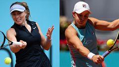 Paula Badosa no puede con Barty y cae en el Mutua Madrid Open
